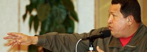 """Chávez anuncia una ruptura de relaciones con Colombia, el """"narcoestado"""""""