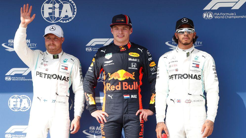Foto: Verstappen se llevó la pole por delante de los Mercedes en Hungría. (Reuters)