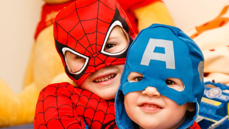 Los más pequeños necesitan disfraces cómodos y que les diviertan.