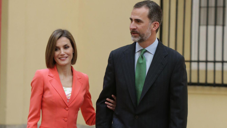 Foto: Los Reyes se reúnen con la Grandeza de España