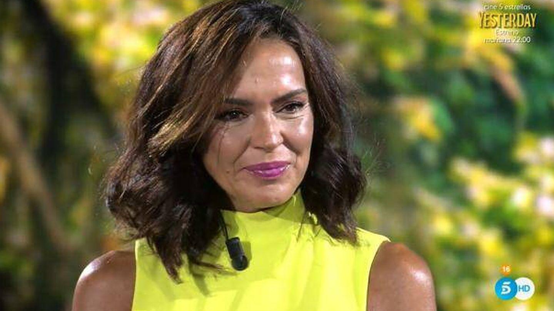 Olga Moreno, en el debate de 'Supervivientes'. (Mediaset)