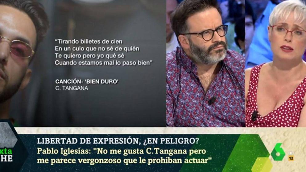 Edu Galán y Anna Grau cargan contra la censura de Podemos con C. Tangana