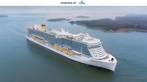 El crucero que se mueve con gas natural licuado y emite un 20% menos de CO2