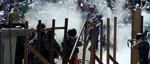 La Policía pide la suspensión de la semifinal entre Brasil y Uruguay