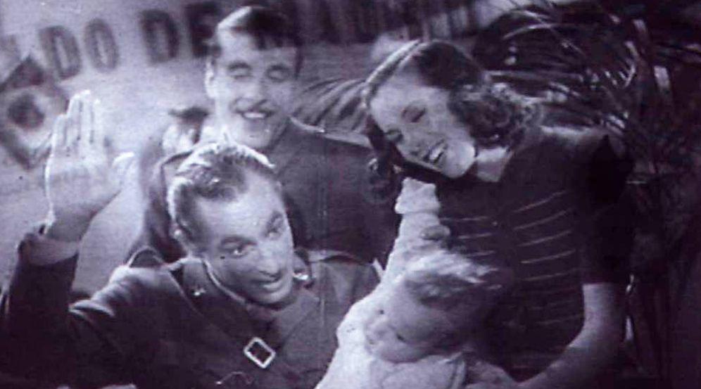 Foto: foto  Fotograma censurado de la primera versión de 'Raza'. (Filmoteca Española)