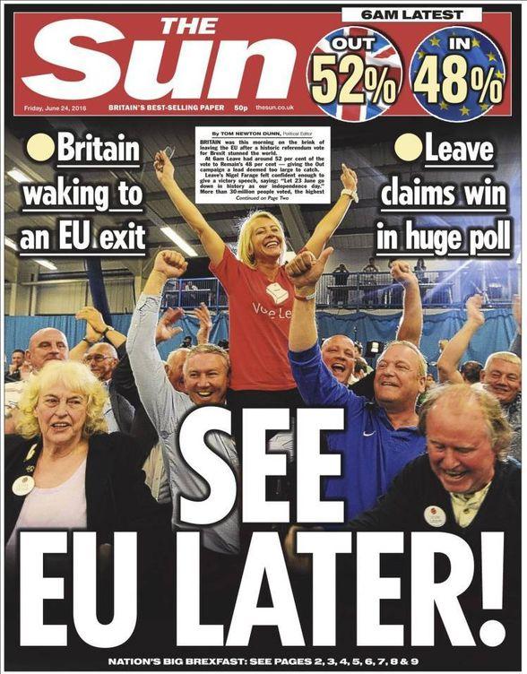 Foto: Portada del diario 'The Sun' de este viernes. (EC)