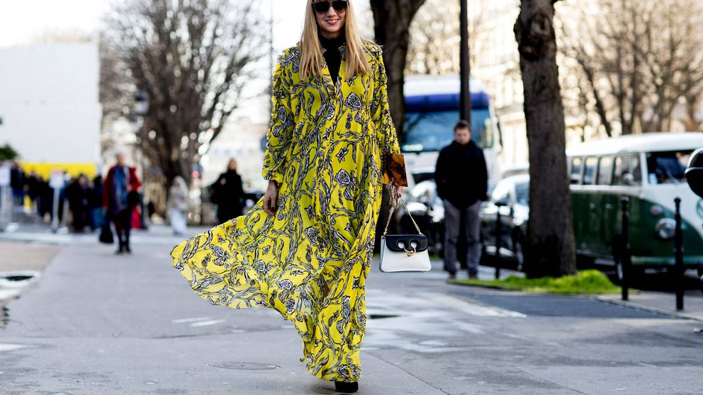 Los vestidos también son para el otoño