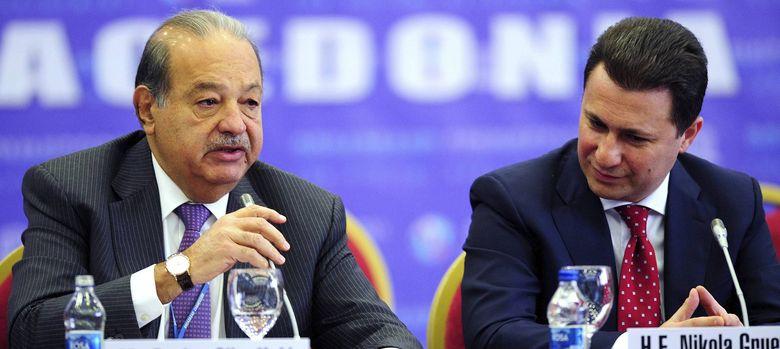 Foto: El magnate mexicano Carlos Slim (i). (EFE)