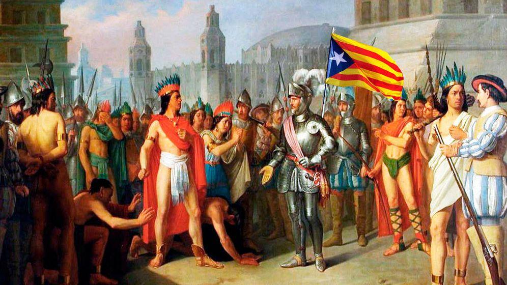 Foto: Ferrán Cortés, un conquistador catalán (Montaje: E.V)