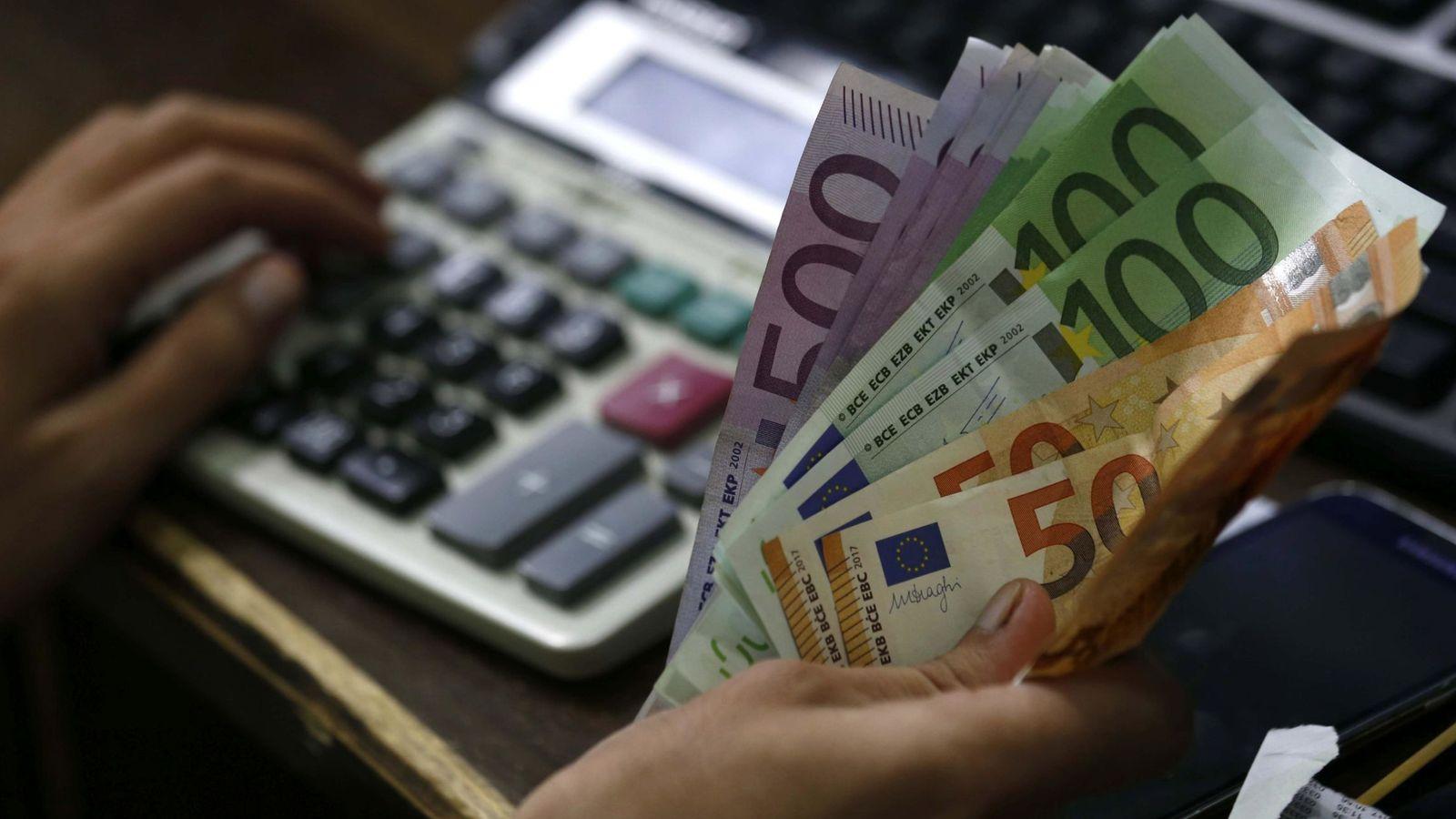 Foto: Billetes de euro. (EFE)