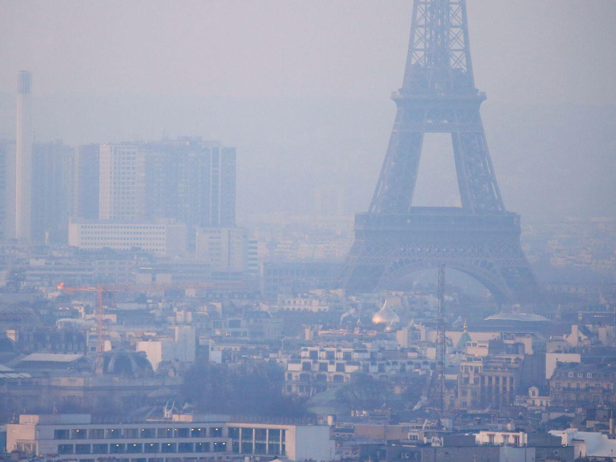 Foto: Niveles muy altos de contaminación en París. (Reuters)