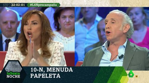 Bronca entre Eduardo Inda y Angélica Rubio por los bebés de Pablo Iglesias