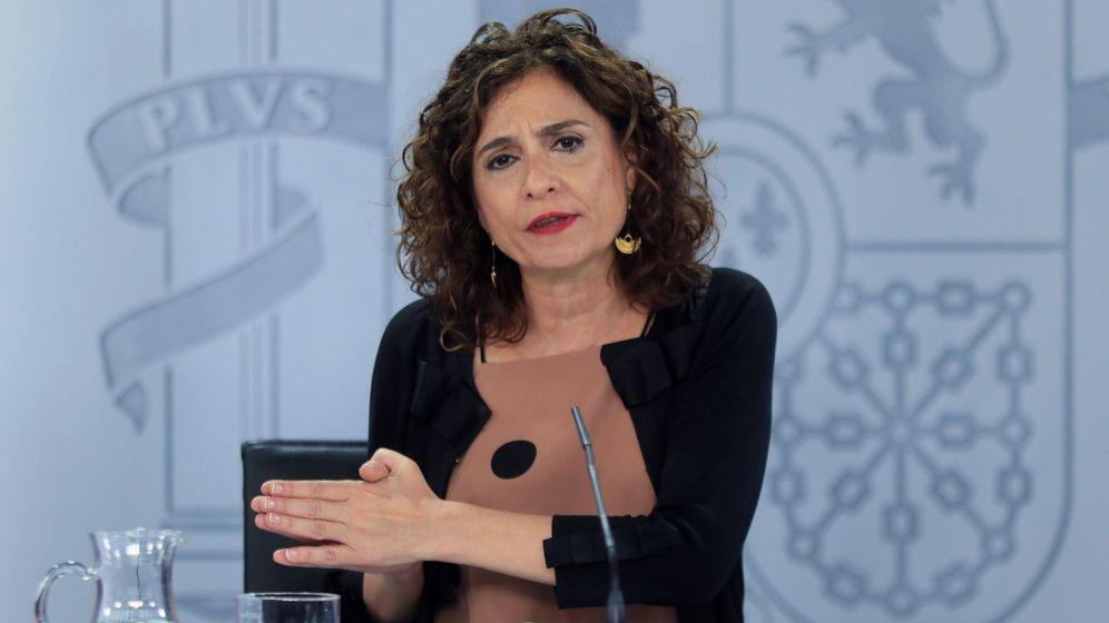 Foto: La ministra de Hacienda, María Jesús Montero. (EFE)