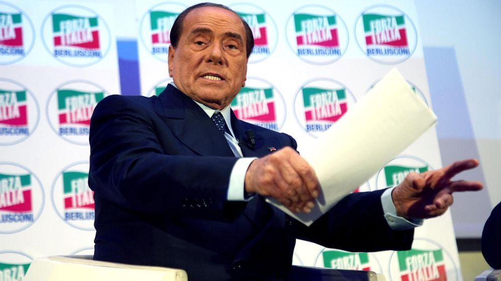 Foto: Silvio Berlusconi durante una comparecencia en una convención de Milán. (Efe)