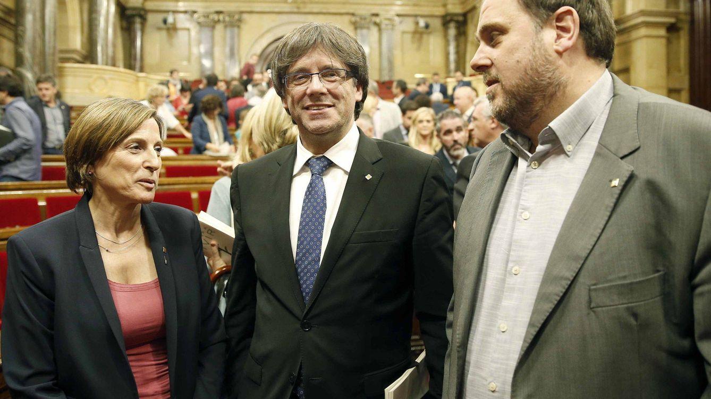 La lista inamovible que el PDeCAT impone a ERC: Puigdemont, Junqueras y Forcadell