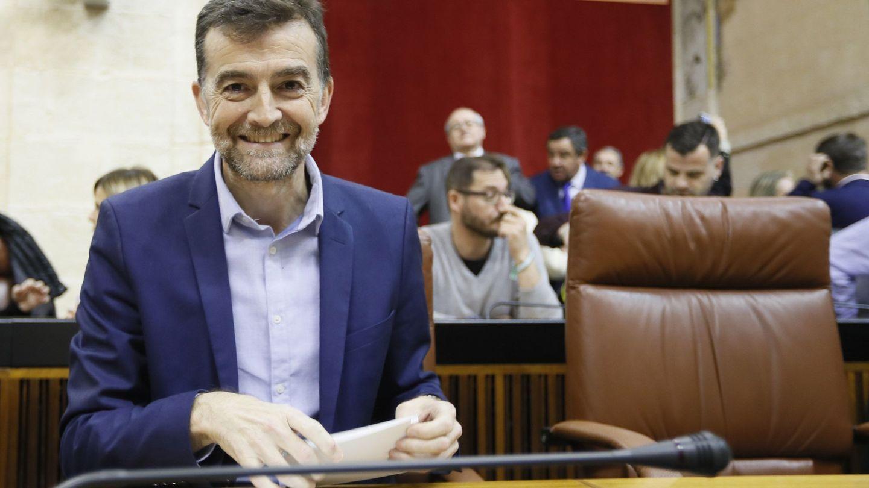El portavoz de Adelante Andalucía , Antonio Maíllo, uno de los más críticos. (EFE)