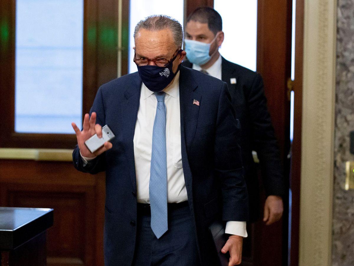 Foto: El líder de la mayoría republicana en el Senado, Chuck Schumer. (EFE)
