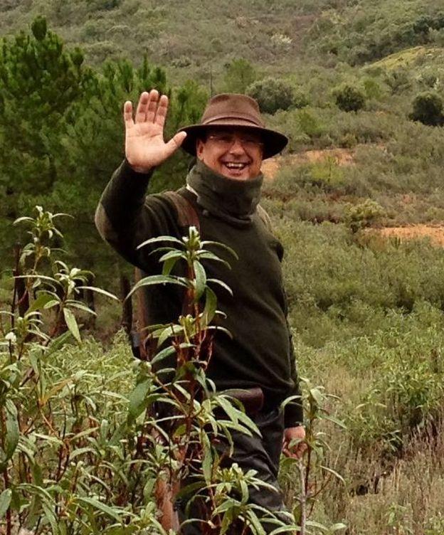 Foto: Antonio Fernández Muñoz, el cazador de Belvís de la Jara.