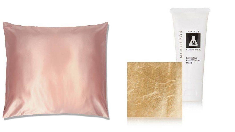 Almohada de seda y mascarilla de oro, ¿alguien da más?