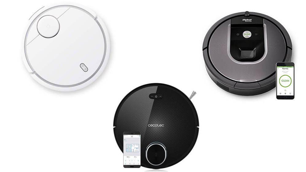 Foto: Roomba, Xiaomi y Conga, entre los mejores robots aspiradores del mercado