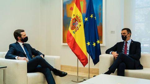 Casado explora con Sánchez una agencia independiente para los fondos de la UE