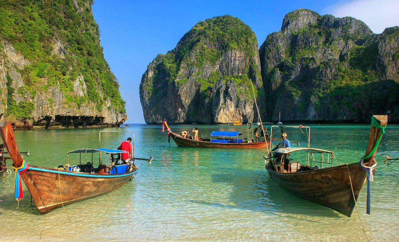 Relájate en las paradisíacas playas de Tailandia. (Shutterstock)