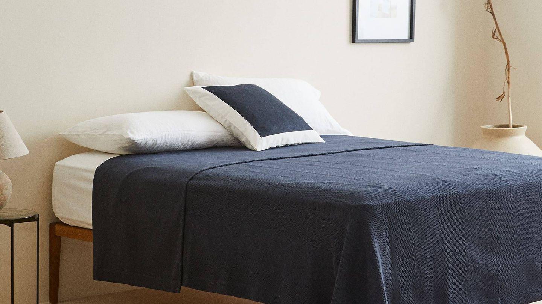 Zara Home tiene las colchas ideales para tu dormitorio. (Cortesía)