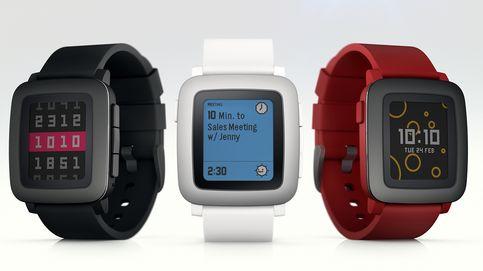 Guerra del 'smartwatch', día 1: Pebble Time somete a Kickstarter