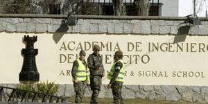 Foto: Cinco militares muertos por una explosión en la Academia de Hoyo de Manzanares