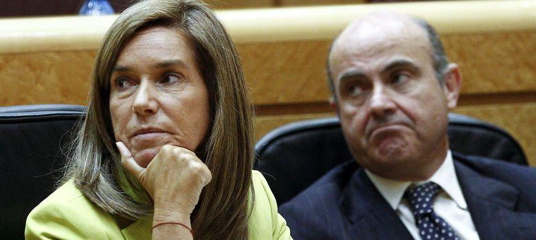 Foto: Ana Mato, en una reciente comparecencia de control al Gobierno en el Senado. (EFE)