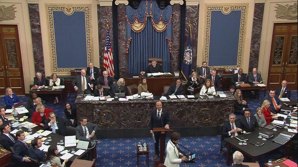 Los demócratas acusan a Trump de haber violado la Constitución