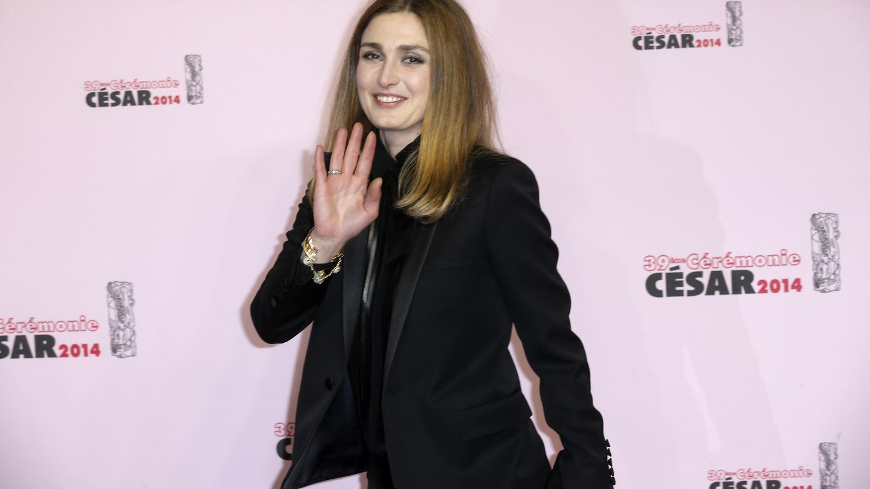 La actriz, a su llegada a los premios césar (i. c)