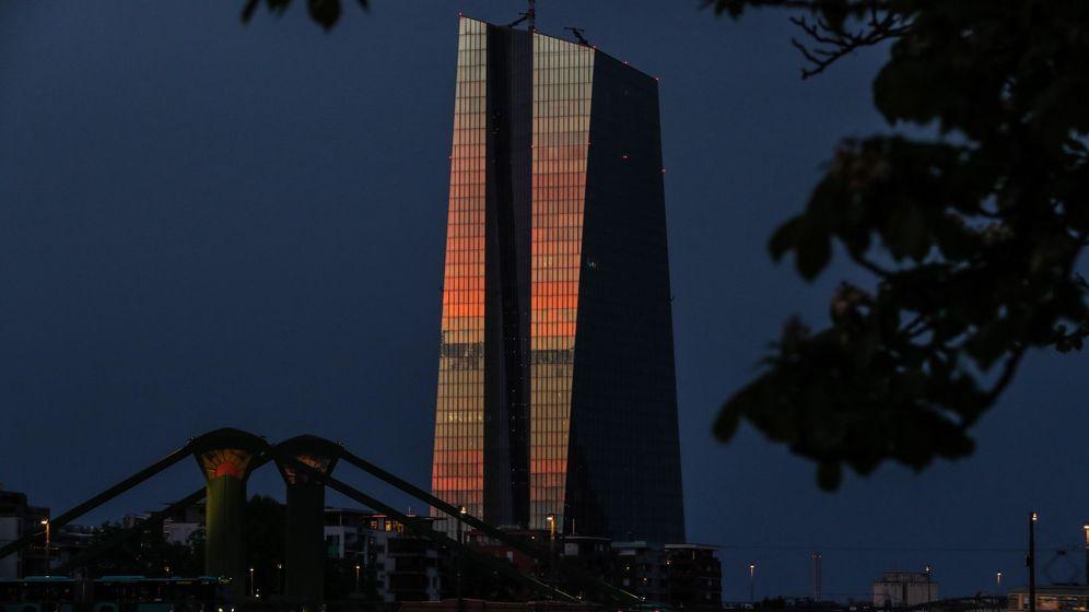 Foto: El Banco Central Europeo en Fráncfort (Alemania). (EFE)