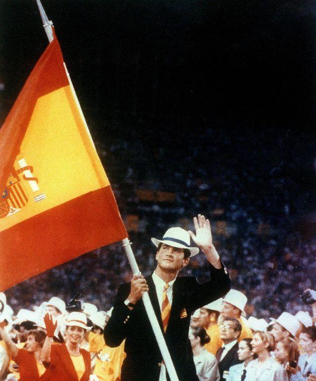 Foto: El entonces príncipe de Asturias, Felipe de Borbón, fue el abanderado de España en los Juegos Olímpicos de Barcelona 1992. (EFE)