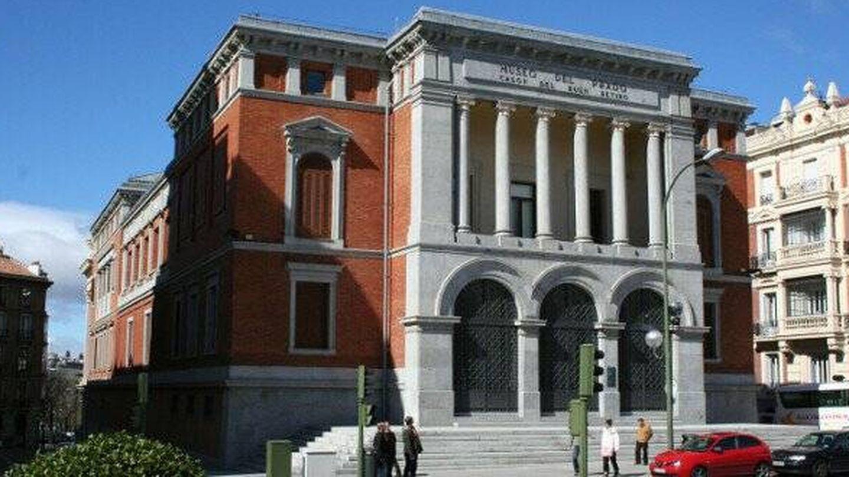 El Casón del Buen Retiro, en el Paseo del Prado. (EsMadrid)