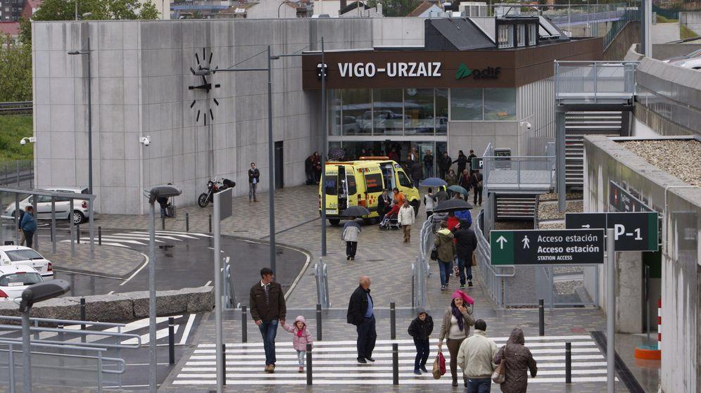 Foto: Exterior de la estación de Vigo-Urzaiz. (EFE)