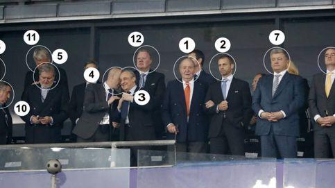 El palco de Kiev: el rey emérito Juan Carlos y la extraña presencia de Villar