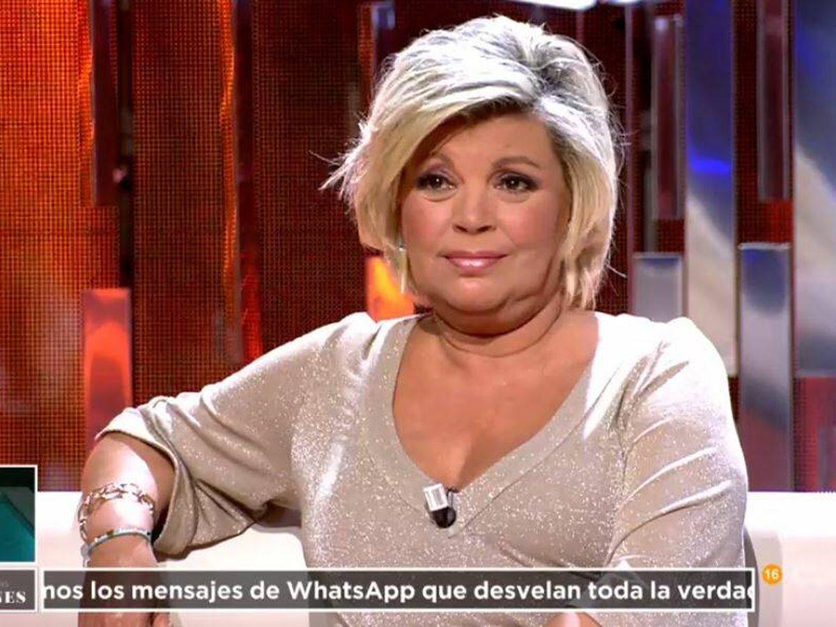 Foto: Terelu Campos, en 'La última tentación'. (Mediaset España)