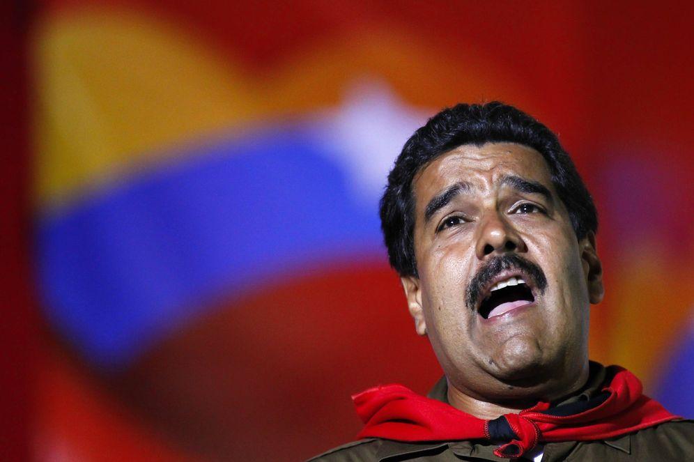 Foto: Nicolás Maduro durante la campaña electoral de 2013. (Reuters)