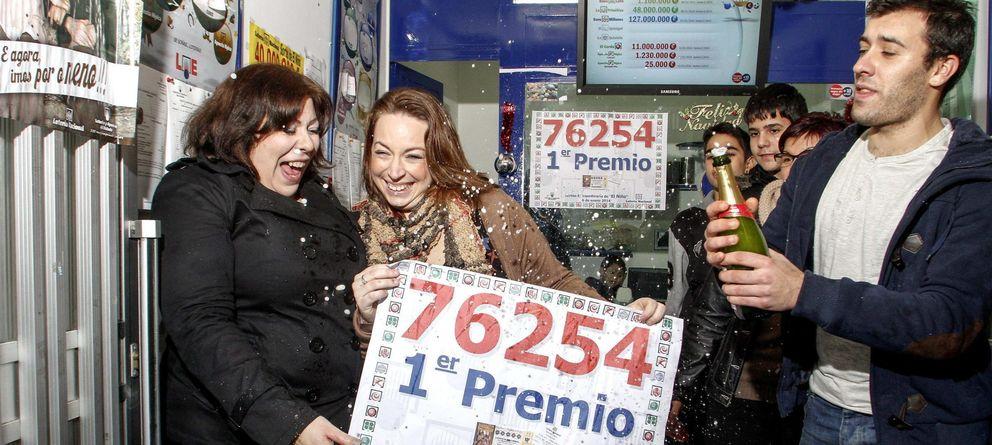Foto: 120 millones de euros para Monforte de Lemos (Lugo), que no devolvió ningún boleto del primer premio (Efe)