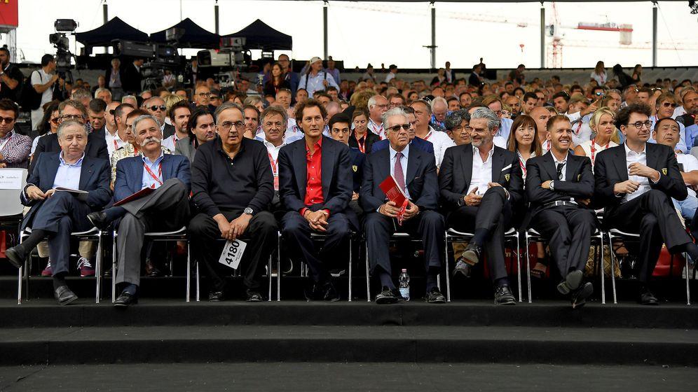 Foto: La celebración del 70 aniversario tuvo una gran cantidad de invitados, entre los que no estuvo Luca Cordero di Montezemolo. (Reuters)