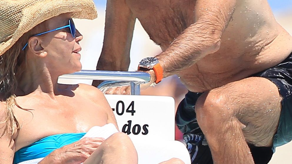 Tita Cervera veranea un año más con Manolo Segura