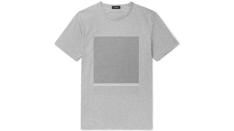 Una camiseta que encierra una 'Theory'
