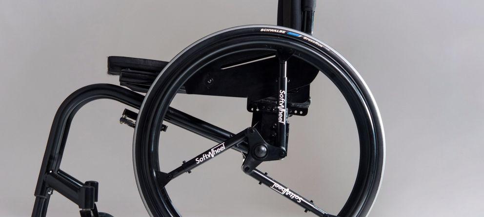 Foto: Reinventando la rueda: Softwheel apuesta por los amortiguadores en lugar de radios