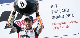 Post de Márquez se corona campeón de MotoGP con una victoria agónica sobre Quartararo