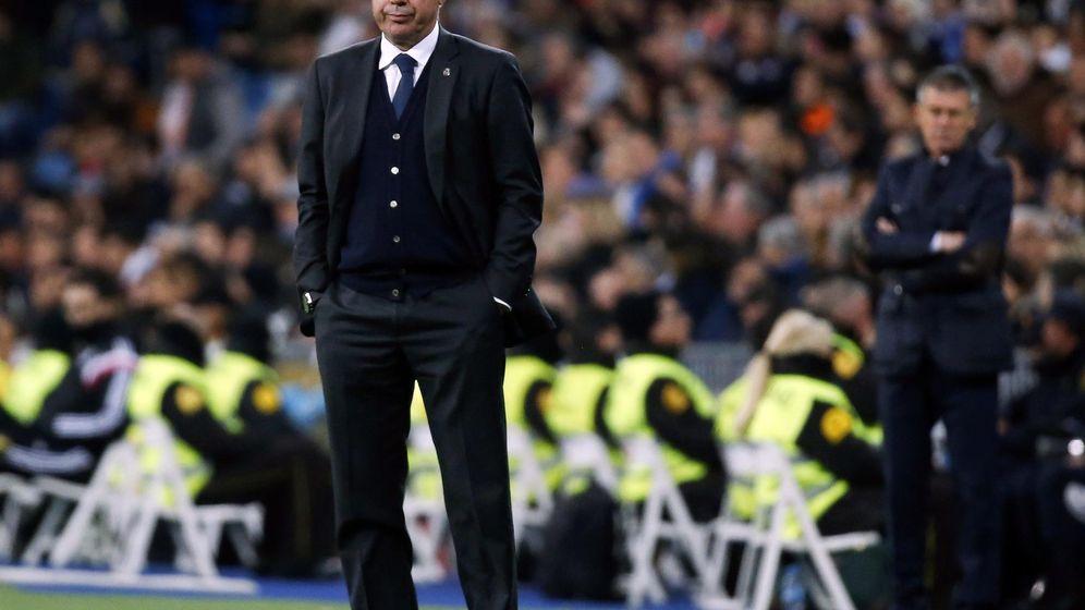 Foto: El técnico madridista Carlo Ancelotti.