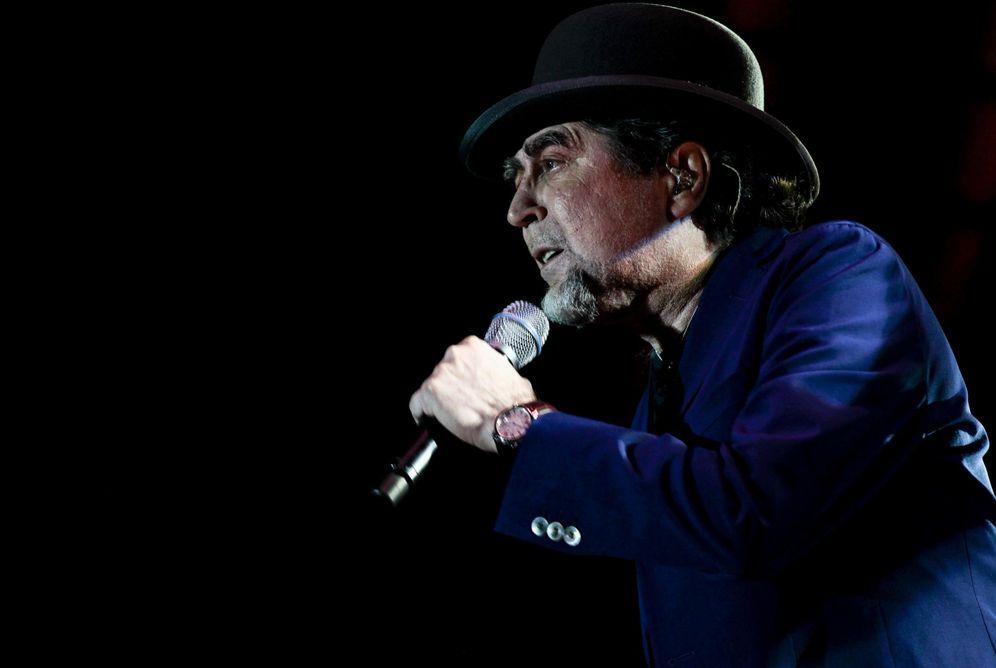 Foto: Joaquín Sabina, en un concierto. (EFE)