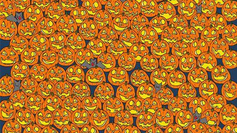 El reto viral de Halloween: encuentra la calabaza que no tiene nariz