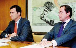 Alfonsín sustituirá a Spottorno como jefe de la Casa del Rey