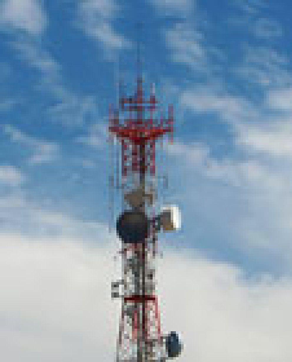 Foto: Las antenas de móviles, inocuas para la salud